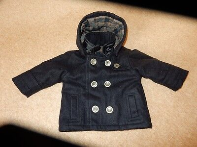 Smart Baby Boys Hooded Coat Age 3-6 Months