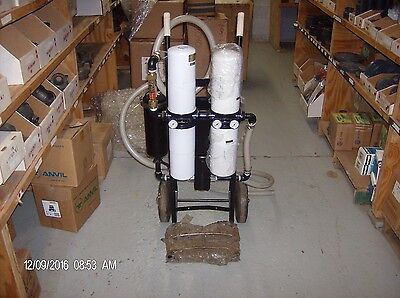 Fervac filtration sys for reclamation and recycling all types of oil and coolant