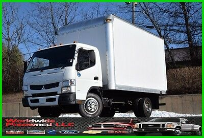 2012 Mitsubishi Fuso Fe160 Canter Box Truck 3.0L Diesel Tilt Cab Over Used Work