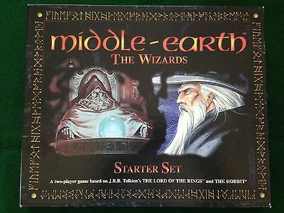 Middle Earth: The Wizards Starter Set - complete, EX+ - MECCG METW CCG ICE