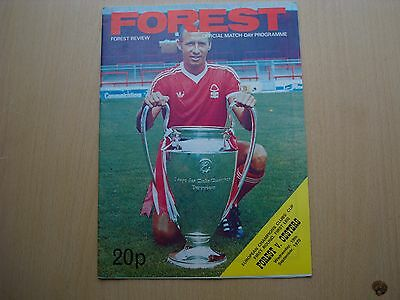 Nottingham Forest V Oesters If Sep 1979
