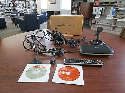 Lifesize Passport HD Video Conference System, Camera/Remote/Adapter/Cables