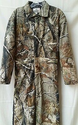 Hunting Coveralls REDHEAD FOR HER Insulated Realtree Camo WOMENS Sz Sm/Petite