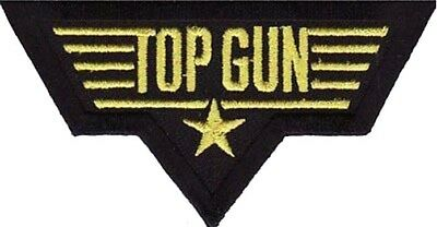 Top Gun Squadron Embroidered Iron On Morale Patch