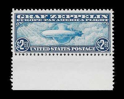 WCstamps: U.S. Scott #C15 / $975 - 2.60 Zeppelin, NH OG, VF