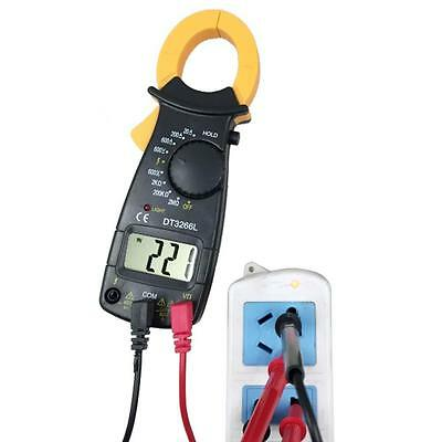 Brand AC DC Voltage LCD Digital Clamp Multimeter Electronic Tester Meter P.