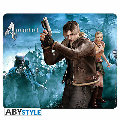 Resident Evil Leon & Ashley Mousepad IT IMPORT ABYSTYLE