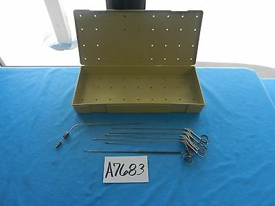 Storz V Mueller Surgical ENT Micro Laryngeal Instrument Set With Case