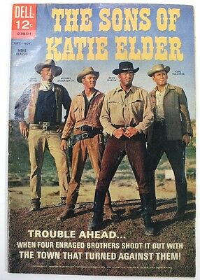 1965 Dell Comic Book - The Sons of Katie Elder - with John Wayne, Dean Martin