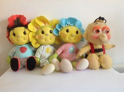 FIIFI AND THE FLOWERTOTS - SOFT TOYS APPROX 20cm In