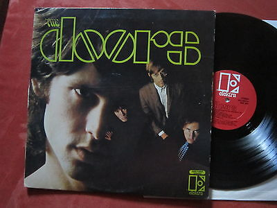 THE DOORS Same First LP, RED LABEL ,LARGE PRINT,USA PRESS