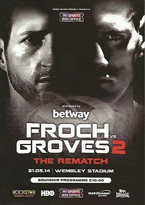 CARL FROCH v GEORGE GROVES WBA + IBF SUPER MIDDLEWEIGHT TITLES + DEGALE + JOSHUA