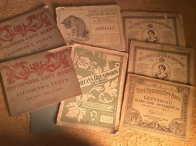 19th Century Artist Copy And Drawing Books