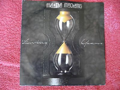 """Mike and the Mechanics- the living years vinyl 7"""" with picture sleeve"""