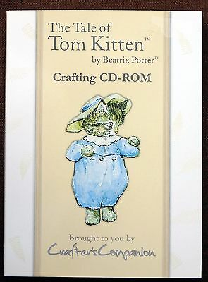 Crafters Companion Cd Tale Of Tom Kitten, Cardmaking, Crafts, Stationery, Used,