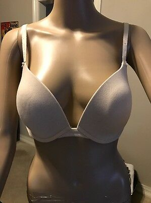 Victoria's Secret t-shirt bra 34DD lightly padded full coverage underwire