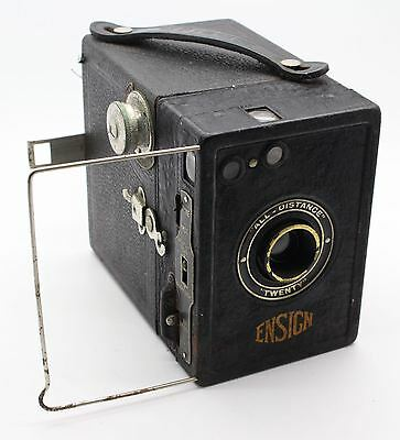 Ensign All-Distance Twenty Box 120 Film Camera – Good condition & tested c.1931