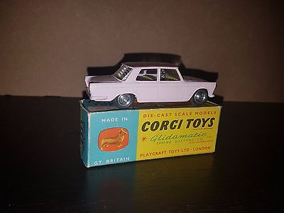 CORGI TOYS MODEL No.232 FIAT 2100 & ORIGINAL BOX - Diecast