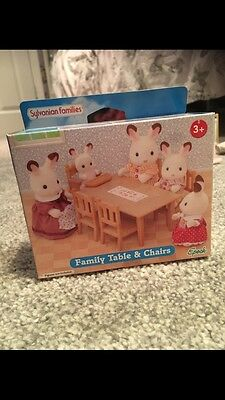 Sylvanian Families Family Table & Chairs Set In Box
