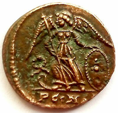 Nº 763.constantinopolis.very Rare For Crown Of Laurel Boat Bow,