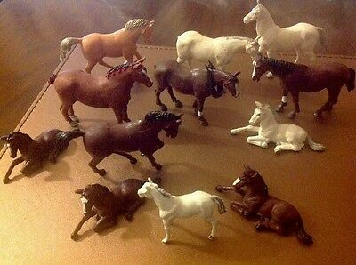 BRITAINS FARM HORSES ( 1 Price For them All )