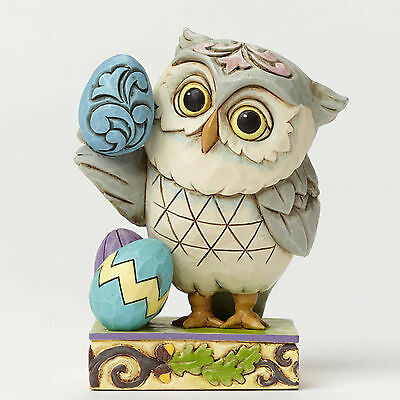 Jim Shore Mini Easter Owl New 4051404
