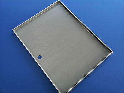 STAINLESS STEEL BBQ GRILL HOT PLATE 42.5  X 32 cm  PREMIUM 304 GRADE BRAND NEW