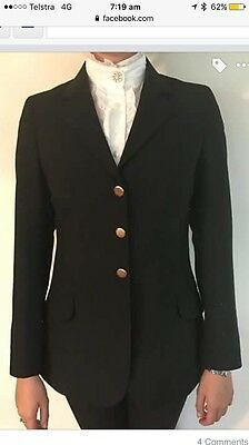 Black Ascot Outfitters Hacking Jacket