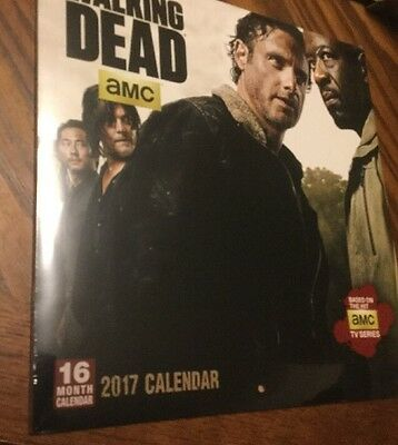 The Walking Dead AMC 16 Month Calendar, Sellers Publishing