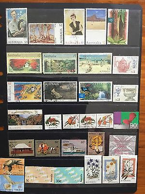 used australian stamps