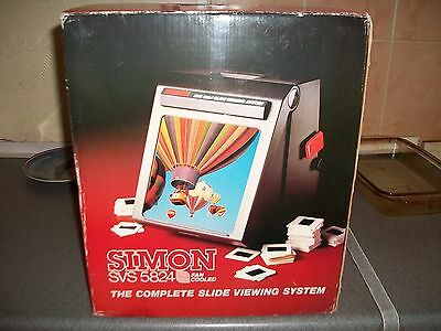 Simon SVS 5824. complete slide viewing system
