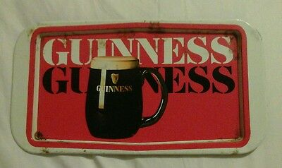 metal guinness tray