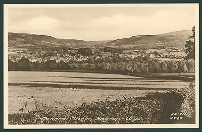 General View of Hay on Wye, BRECONSHIRE