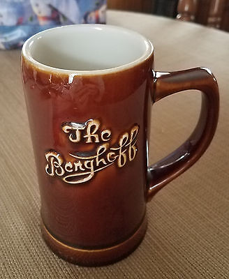 The Berghoff Beer Mug (historic Chicago)