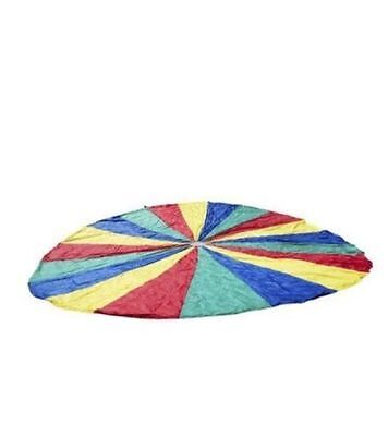 20 FT Kids Play colorful Parachute w/16 Handles . Heavy Duty Material.