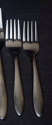 Oneida Jennifer Salad Dinner Forks 8pcs Stainless Flatware Replacements Glossy