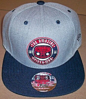 New!! Funko Pop Marvel Collector Corps Exclusive Spider-Man Baseball Hat / Cap
