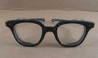 Vintage Fendall Roustabout Z 87 Safety Glasses with Shields 6""