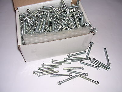 """Hex Flange Bolts, 1/4""""-20 x 1 7/8"""", Partially Threaded, NOS, Qty., 299 Bolts"""
