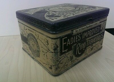 Antique Tin Nearly 100 Years Old Eadies of Scotland Excellent Condition For Age