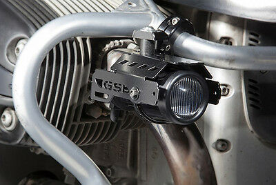 BMW R1150GS Hella fog lights kit with crash bar brackets