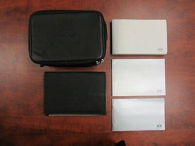 2009 Infiniti QX56 User Manual Set with Leather Case