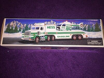 1995 Hess Truck & Helicopter- Original in Box MINT CONDITION