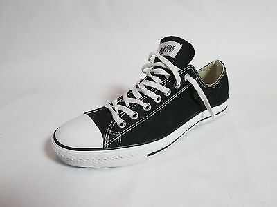 Converse All Star Men's Athletic Sneakers Black Low Canvas Size 11