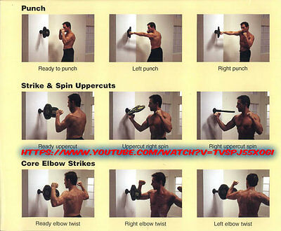 Cardio Fitness Strike Trainer Core Workout Thai Boxing Body Workout Training DVD
