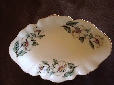 Vintage Crown Staffordshire Oval Plate /Dish