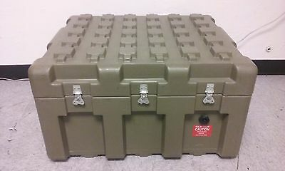 ECS Loadmaster 29x25x17 Tan Transit Shipping Case Container Crate Waterproof