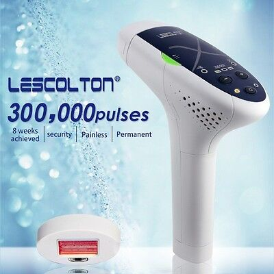 Lescolton permanent hair removal for body and face device 300, 000 pulse