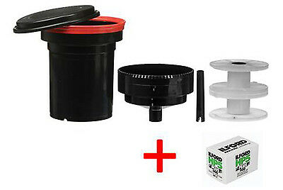 Paterson Universal Tank & two reels PLUS FREE roll of HP5 24exp