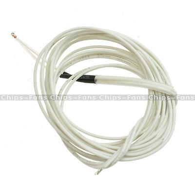 2/5/10/50PCS 100K ohm 3950 1% NTC Thermistor With Cable For 3D Printer Reprap CF